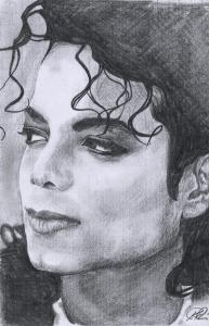 Michael Jackson (graphite pencil)