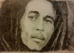 Bob Marley (graphite pencil)