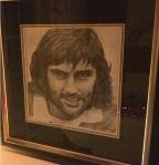George Best (graphite pencil)